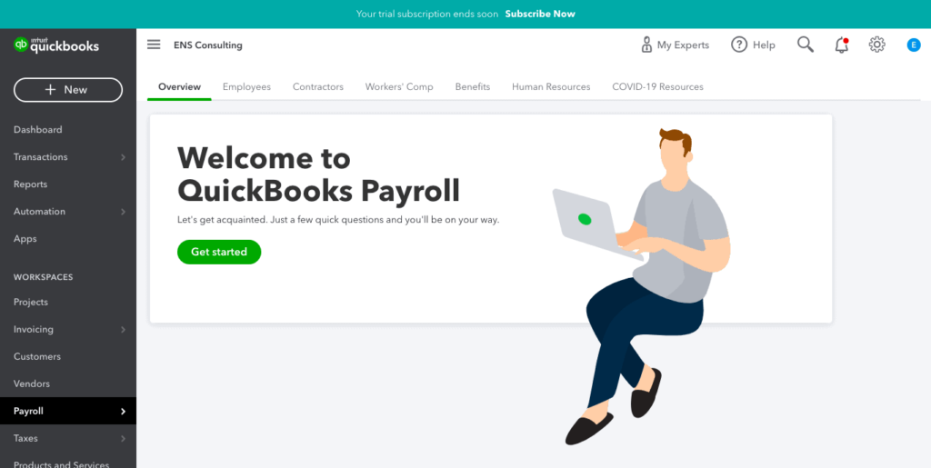 QuickBooks Online Payroll: Overview