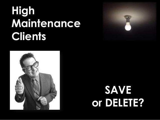 Removing Low-Profit & High Maintenance Clients